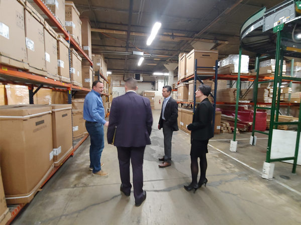 APR Supply Co. Hosts Congressman Dan Meuser