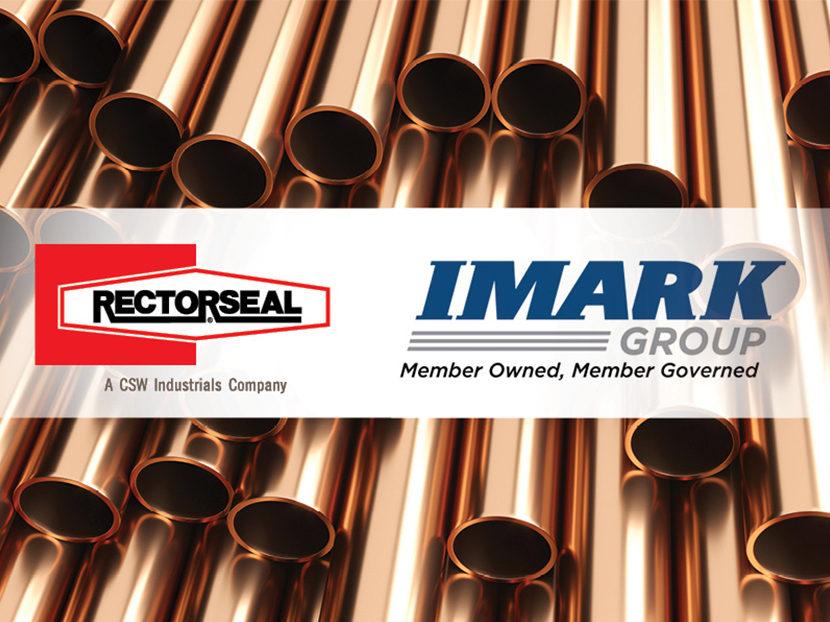 IMARK Plumbing Group Approves RectorSeal as a Vendor