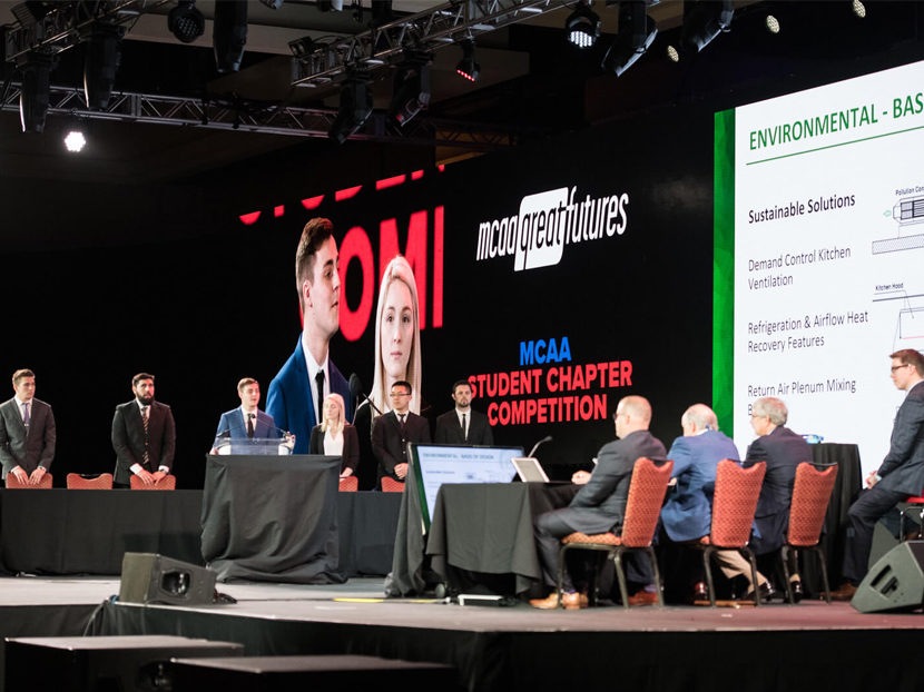MCAA Student Chapter Competition Final Four Announced