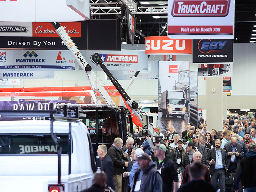 New Trucks and Equipment to Debut at The Work Truck Show 2020