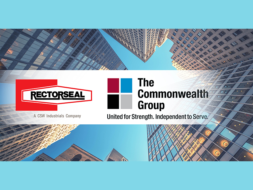 RectorSeal Becomes Vendor of The Commonwealth Group