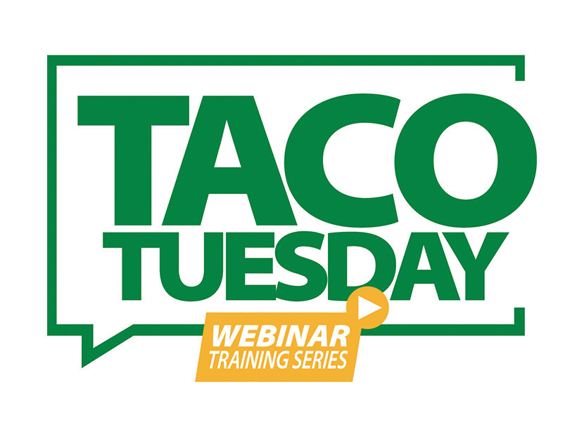 "Taco Comfort Solutions Announces Bi-Weekly ""Taco Tuesday"" Webinar Training"