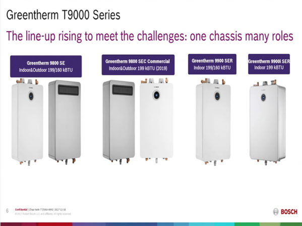 Bosch Release Training Video for Greentherm Tankless Series