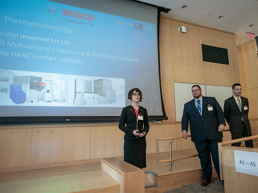 Bosch Thermotechnology Corp. Partners with Local University Capstone Program