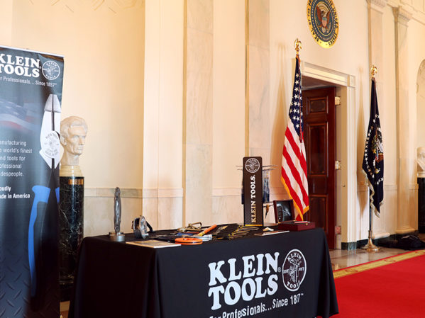 Klein-Tools'-US-Products-Featured-at-White-House's-'Made-n-America'-Showcase