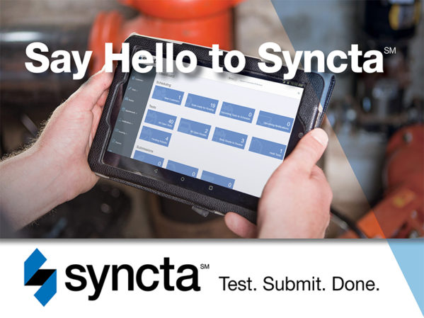 Watts Announces Syncta Backflow Test Management Software