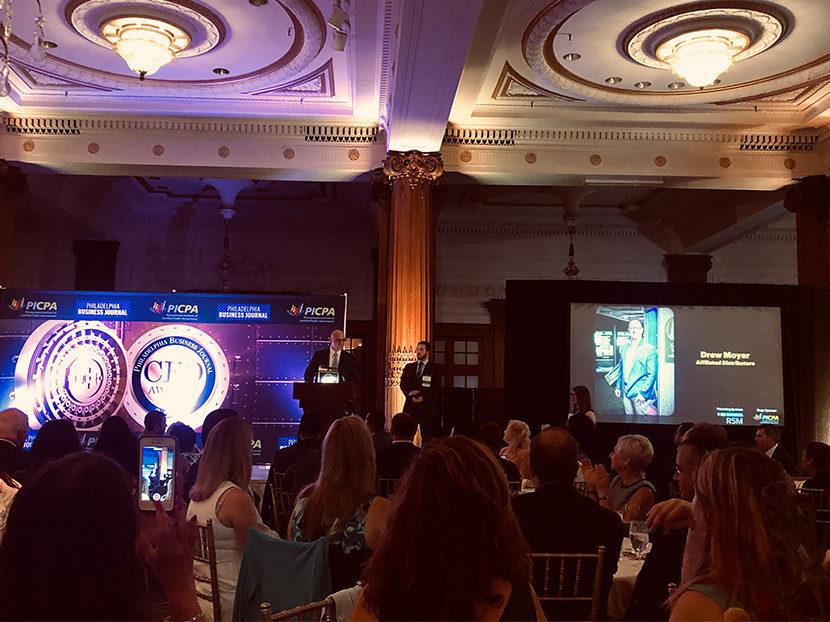 AD CFO Drew Moyer Named 2019 CFO of the Year by Philadelphia Business Journal