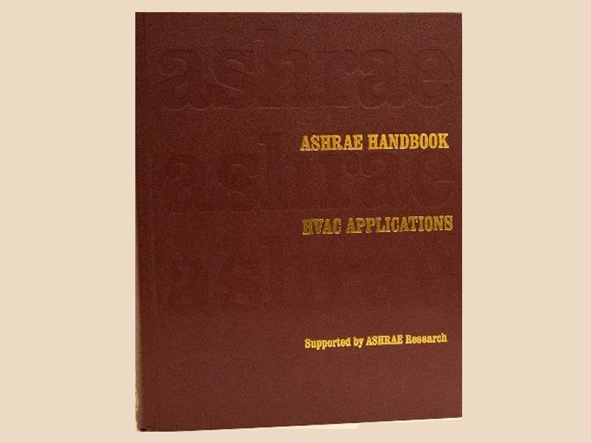 ASHRAE Releases New HVAC Applications Handbook