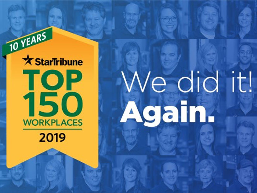 Star Tribune Names Mulcahy Co. a 2019 Top 150 Workplace