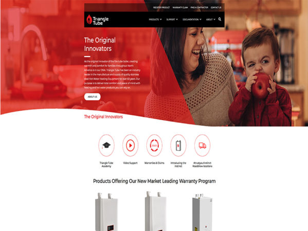 Triangle Tube Launches New Website