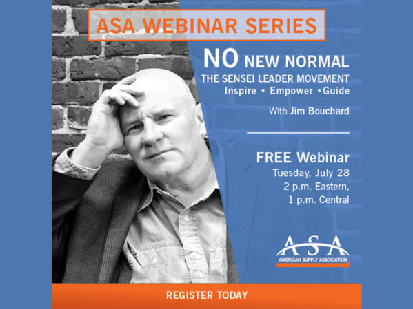"ASA Announces Latest Webinar: ""No New Normal: The Sensei Leader Movement"""