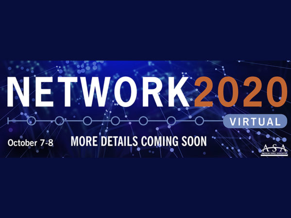 ASA Shifts NETWORK2020 to Virtual Format
