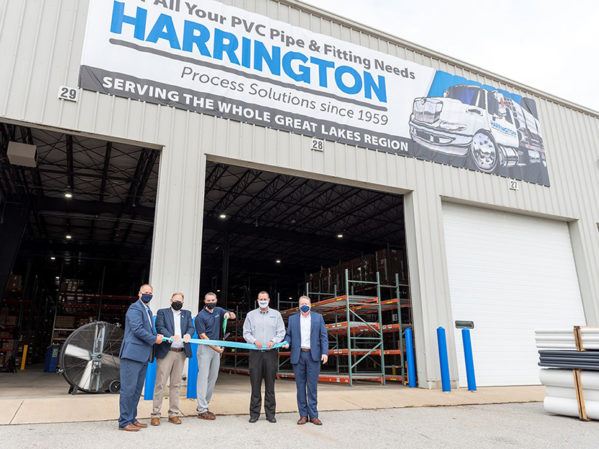 Harrington Announces Fort Wayne, Indiana, Distribution Center Grand Opening