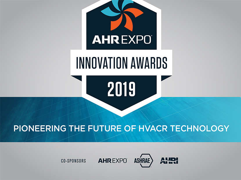 AHR Expo Now Accepting 2019 Innovation Awards Submissions