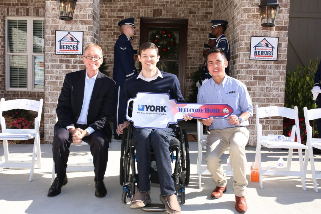 YORK Celebrates 5th Anniversary with Building Homes for Heroes