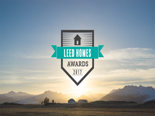 USGBC Announces 2017 LEED Homes Award Recipients