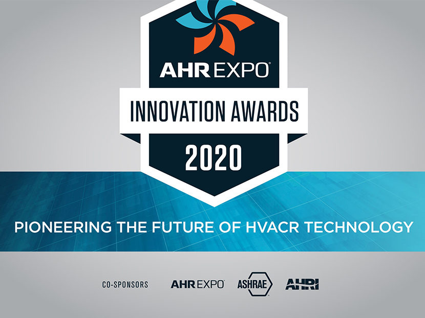 AHR Expo Now Accepting 2020 Innovation Awards Submissions