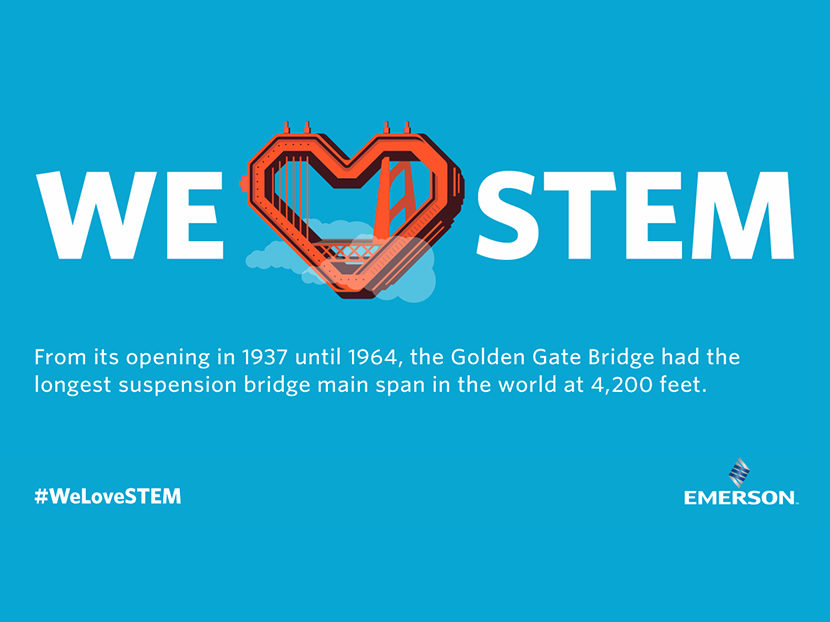 """Emerson to Host First """"We Love STEM Day"""" at Ridge Tool Headquarters"""