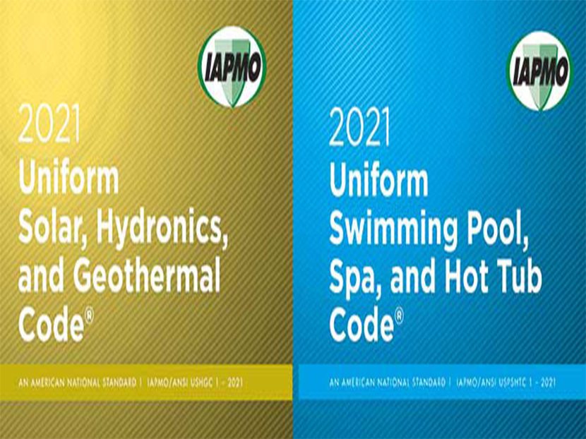 IAPMO Advances Development of 2021 Solar, Hydronics & Geothermal Code and Swimming Pool, Spa & Hot Tub Code