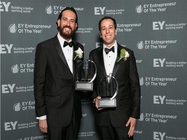 Neptune plumbing presidents win entrepreneur award