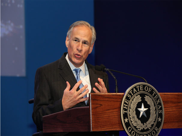 Texas governor promises plumbers states licensing board will continue