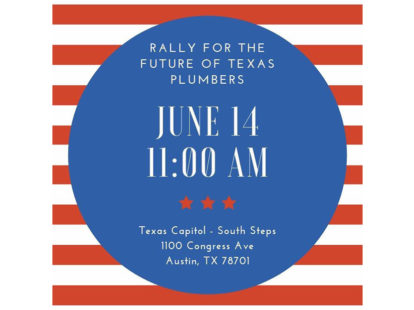 Thousands of plumbers expected to rally at texas capitol