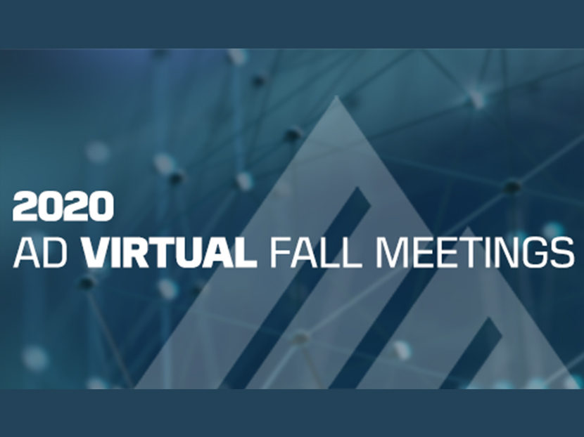 AD's Slate of Fall Meetings Moves to Virtual Setting