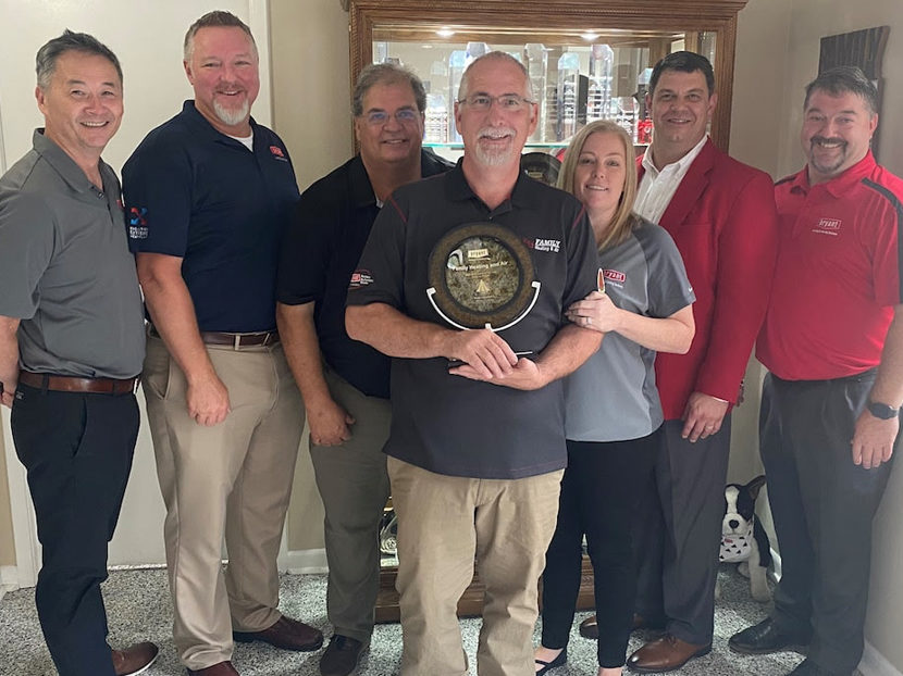 Bryant Heating & Cooling Systems Announces Family Heating and Air as Dealer of the Year