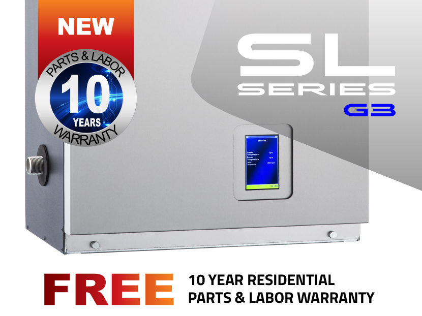 IBC INTERGAS Offers 10-Year Parts and Labor Warranty on All SL Series Residential Boiler Installations