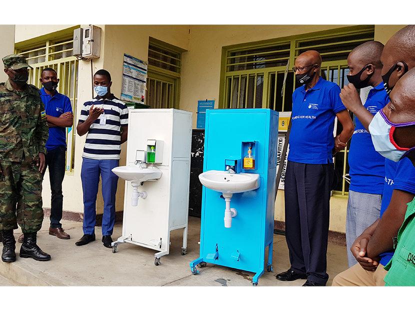 IWSH, Rwanda Plumbers Organization Promote Hand Washing in Local Schools
