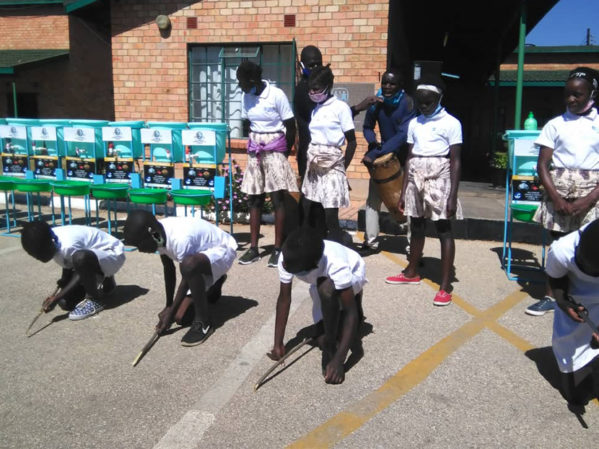 WPC Connects IWSH, Plumbers Association of Zambia for Children's Village Hand-Washing Program