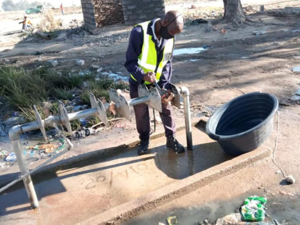WPC Partners Tackle 2,000 Township Taps in Diepsloot