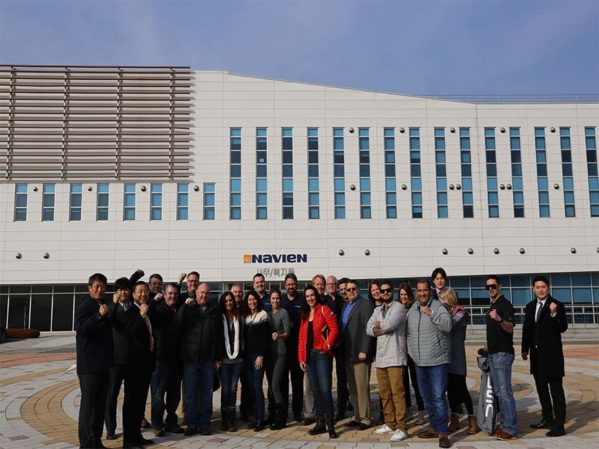 Navien Takes Top North American Contractors for South Korea Tour