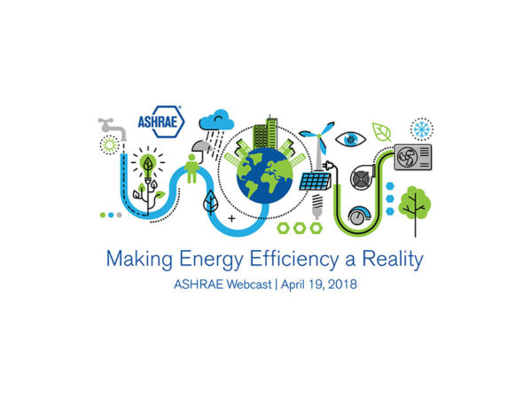 Registration Open for Free ASHRAE Energy Efficiency Webcast