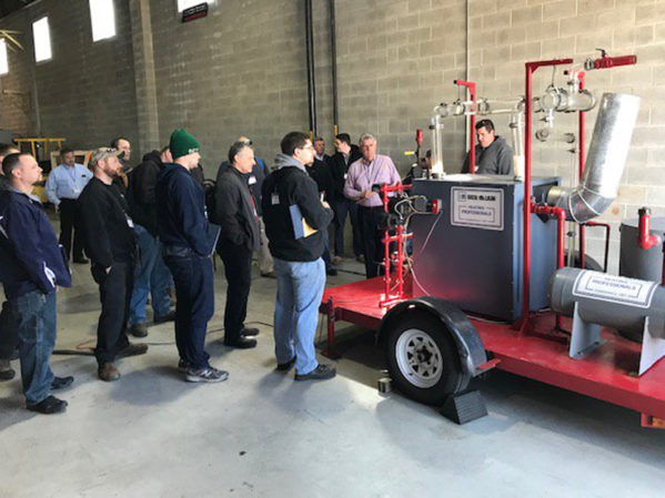 Blankin Equipment Holds its First Commercial Hydronics University