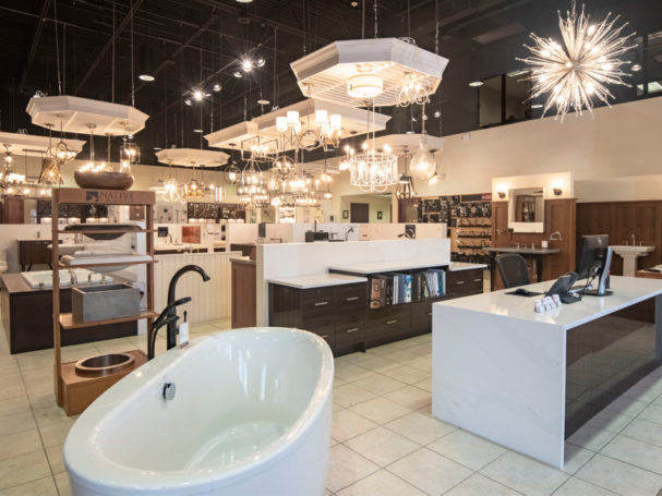 Gerhards kitchen bath store announces grand opening of lighting showroom