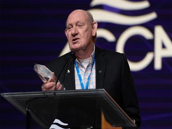 John Sedine Presented with ACCA Distinguished Service Award