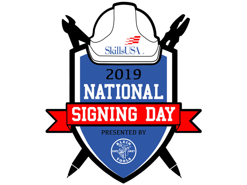 Klein Tools and SkillsUSA Announce National Signing Day for High School Students