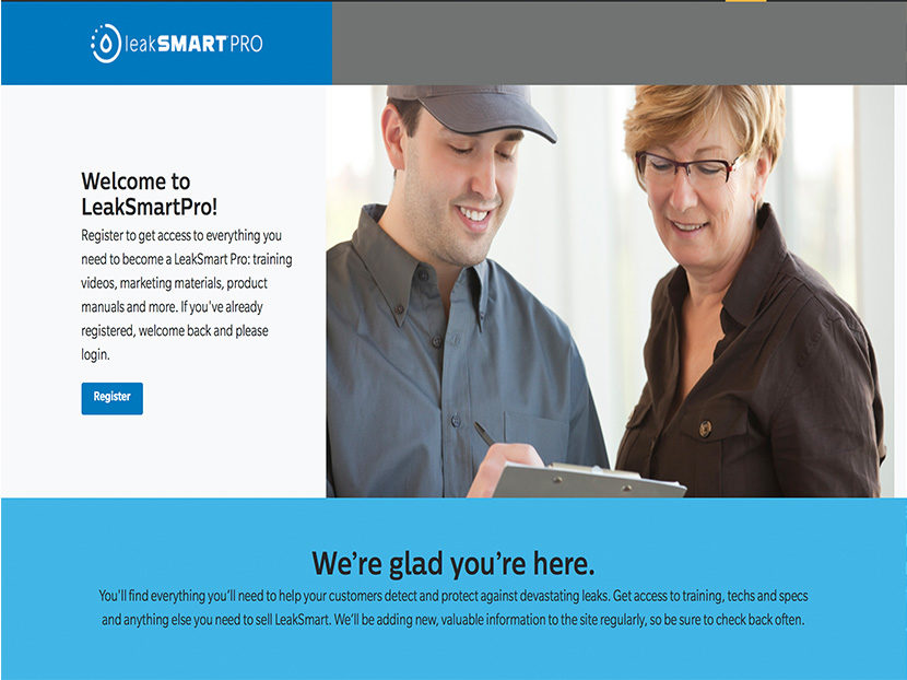 LeakSmart Launches Pro Site Dedicated to the Trade