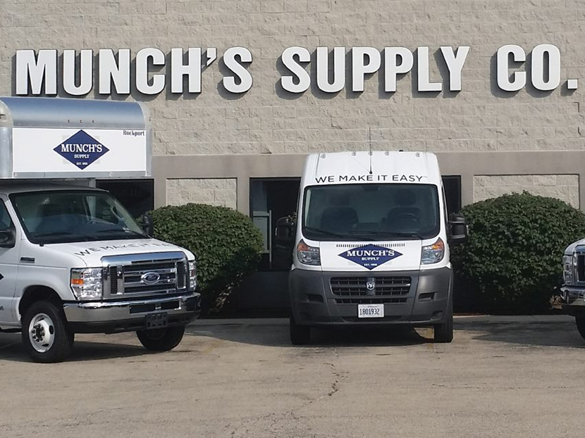 Munch's Supply Purchases Comfort Air Distributing