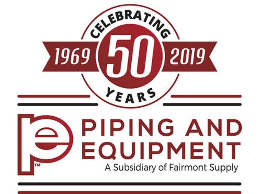 Piping and Equipment Celebrates 50th Anniversary