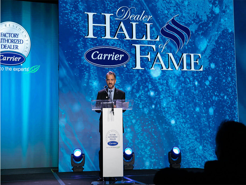 Sonny Roncancio Inducted into Carrier Hall of Fame