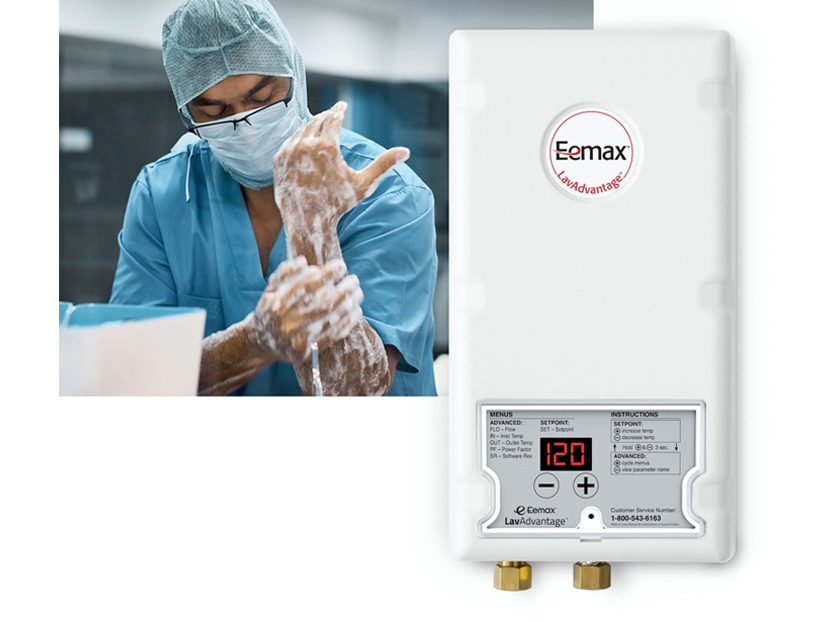 Eemax Delivers Safe, On-Demand Hot Water for Handwashing During COVID-19 Pandemic