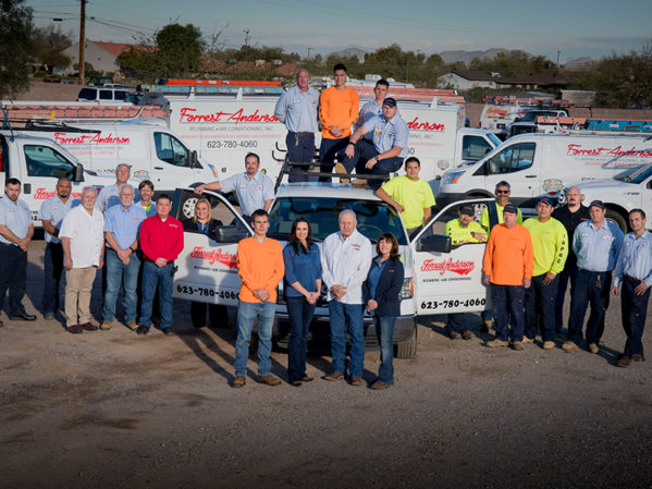 Forrest Anderson Plumbing and AC Launches Complete Service Experience 1