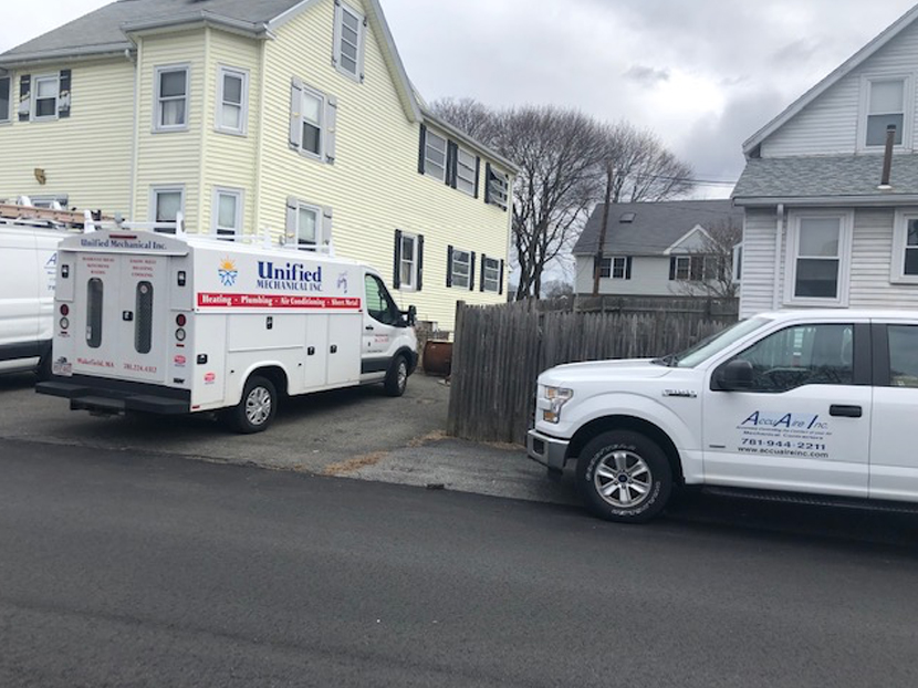 PHCC of Massachusetts Contractors Help Senior Without Heat and Hot Water