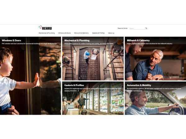 REHAU Launches New North American Website