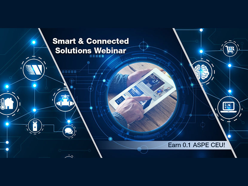 Watts to Host Webinar: Smart & Connected Solutions