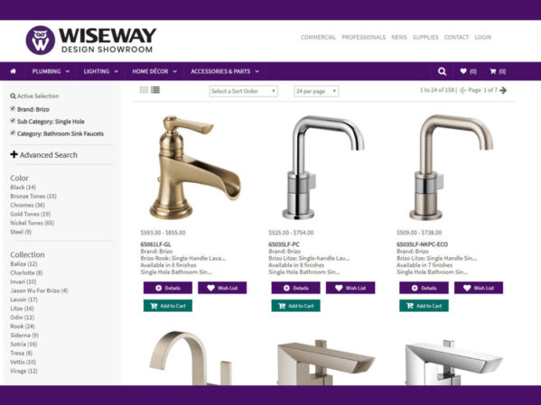 Wiseway Design Center Launches New Online Shopping Experience