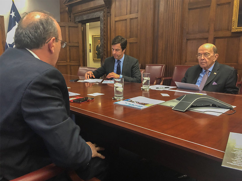 IAPMO CEO Chaney Meets U.S. Commerce Secretary Ross, Urges Continuation of MDCP, Reinstatement of Research
