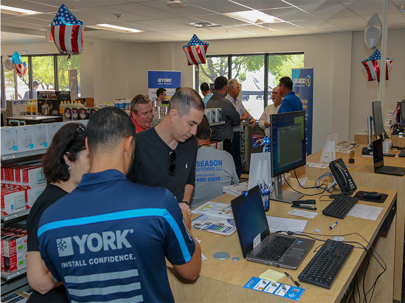 Johnson Controls Opens Two HVAC Supply Centers in Florida